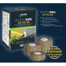 BostikRoll Cove & Capping Double sided Tape 25/50/85mm