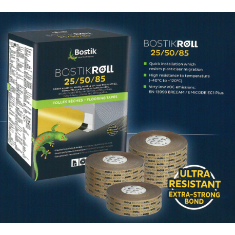 BostikRoll Cove & Capping Double sided Tape