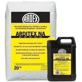 Arditex NA Latex Levelling Compound – 20kg Bag & 4.85kg Latex Liquid